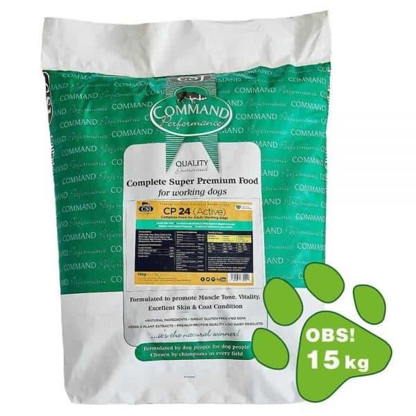 hundefoder med lam til aktive hunde