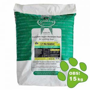 Kornfri hundefoder til hunde med kornallergi