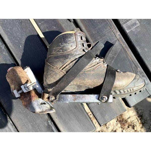 færtsko monteret på støvle
