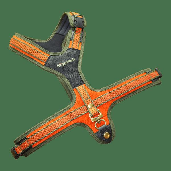 Udstyr til jagt og hundetræning - schweiss sele fra niggeloh orange