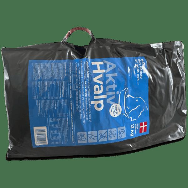 12 kg hvalpefoder med praktisk bærehåndtag