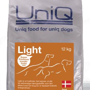 UniQ Light fuldfoder til Senior hunde