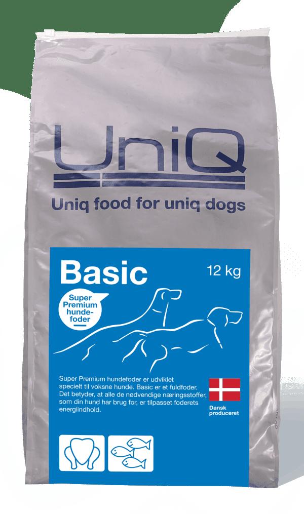 Uniq basic fuldfoder til voksne hunde
