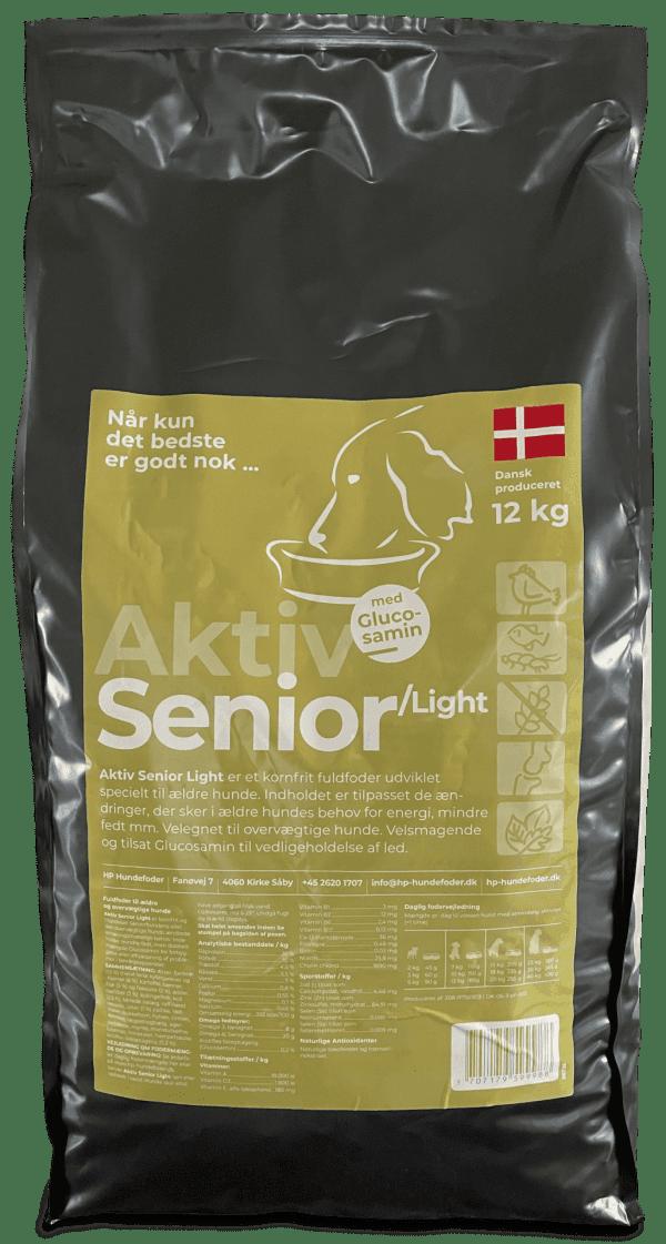 Senior hundefoder med glucosamin